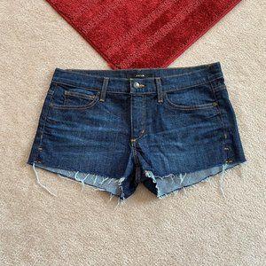 Joe's W 30 Denim Shorts In Marisela Slit Sides
